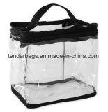 Kundenspezifischer Druck Belüftung-Schönheits-Arbeitsweg-kosmetische Toilettenartikel-Kasten-Handtaschen