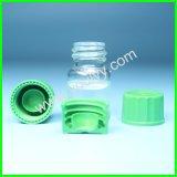 Kleine Glasflaschen mit Schrauben-Oberseiten