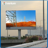 Affiche mobile en plein air à LED