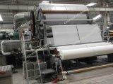 El tejido de un cilindro de la máquina de papel