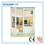 UPVC Dubbele Gordijnstof de Van uitstekende kwaliteit van Roomeye Doors/UPVC het Frans