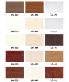 Le PVC imperméable à l'eau de matériau de WPC a émulsionné profil décoratif utilisé avec la porte (KT-17)