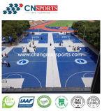 Chão de Antiderrapagem personalizadas para o Desporto Tribunal da Superfície do Piso
