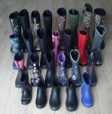 2018のさまざまなネオプレンの雨靴、ネオプレンのブート、Camoのネオプレンのゴム長
