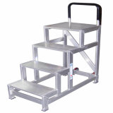 HandrailのアルミニウムAlloy Mobile Ladder Stools