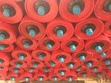 Rolo do transporte de Troughing, rolos de aço