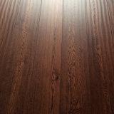 赤いカシエンジニアの木製のフロアーリングの試供品