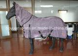 Coperta del cavallo del panno di maglia di 100% per estate