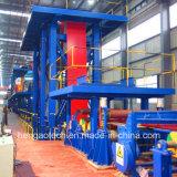 Compléter la couleur enduisant la chaîne de fabrication, ligne d'enduit de couleur
