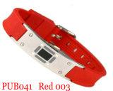 Ионный браслет красного цвета