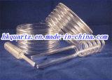 Traitement profond de tube de quartz, tube de quartz de spirale de tube de quartz d'U