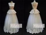 2015 Tulle Sweetheart Plus Size avec dentelle robe de mariage decoration (JL1027)