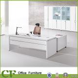 Único de color blanco de oficina Muebles de madera moderno escritorio ejecutivo