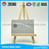 Cartão vazio em PVC com placa magnética