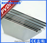 Panneau de mur composé en aluminium avec l'enduit de PVDF directement de Factroy