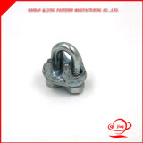 Clip de câble métallique de colliers de l'acier inoxydable DIN 741