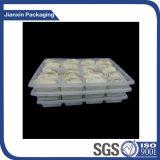 Plateau en plastique remplaçable d'emballage de boîte à boulettes