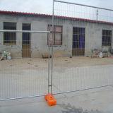 Clôture provisoire amovible enduite de PVC