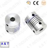 Pièces d'acier inoxydable de qualité de commande numérique par ordinateur/aluminium/laiton/machine