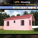 Modulair PrefabHuis met twee slaapkamers met de Certificatie van SABS en SGS