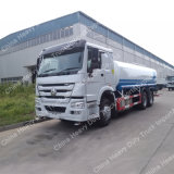 Camion di autocisterna pesante dello spruzzatore/acqua di Sinotruk HOWO 6X4