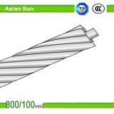 El acero de aluminio de los conductores de ACSR reforzó