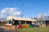 Une tente 5X7.5m de ressource de tente de safari de forme