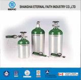 Cilindro de gás de alumínio do oxigênio médico portátil pequeno (MT-6-6.3)