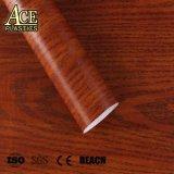 문을%s 실내 장식적인 자동 접착 목제 곡물 PVC 필름 또는 가구 또는 테이블