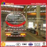 De aluminio de la aleación de gasolina del depósito acoplado semi (42m3 con el efecto negativo del medicamento)
