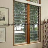 6mm Diffuseur en verre clair / Bronze / verre d'aération pour la fenêtre