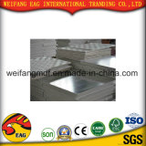 capa de la película del PVC del color del blanco de 7.5m m para la tarjeta de yeso de papel con la parte posterior de la hoja de Aliminum para el techo o decorativo