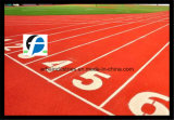 Pista de Atletismo pista de corrida de borracha Piscina executando as vias