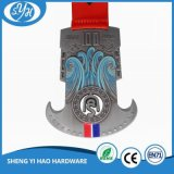 Самый лучший Antique качества делает ваше собственное медаль 3D с тесемкой