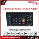 7インチHDのタッチ画面、二重DINのAudi A8/S8のためのアンドロイド5.1 OS車DVD GPSの運行