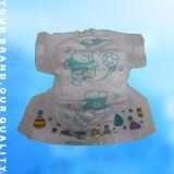 安い綿の静かにNonwoven使い捨て可能な赤ん坊のおむつ(JH002)