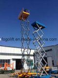 Plataforma hidráulica eléctrica 11m móvil Ascensor