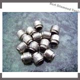o fio da estaca da pedreira da pedra da corda de fio do diamante da aglomeração de 11.5mm viu que usado no fio do diamante viu a máquina