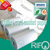 Escudo superficie tratada de papel sintético con RoHS y MSDS