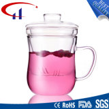Nuevo diseño de la taza de borosilicato de alta con la cubierta (CHM8600)