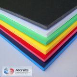La scheda della gomma piuma del PVC di colore per la mostra si imbarca su 205X305cm