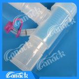 Ce de aprobación ISO el circuito de respiración para anestesia tubo Machine-Coaxial