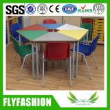 초등 학교 가구 연구 결과 테이블 의자 사다리꼴 테이블 (SF-41C2)