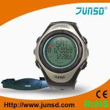 Reloj profesional del monitor del ritmo cardíaco con el compás (JS-703)