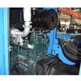 Alimentación de la llave de generación diesel establecido impulsado por motor Cummins y alternador Stamford, Controlador de Mar Profundo 600kVA.