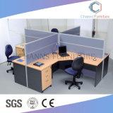 Sitio de trabajo de madera moderno de los muebles de oficinas