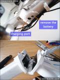 20 '36V 250W Brushless motor de aleación de aluminio plegable bicicleta eléctrica