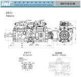 Ini Ik3V Serien-Hydraulikpumpe-Kolbenringpumpe