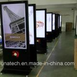 55/65/75inch binnen Openbare LCD van de Machine van de Reclame van Plaatsen Digitale Signage van de Speler van de Advertentie Vertoning