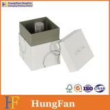 Коробка белой верхней бутылки хранения крышки косметической упаковывая бумажная